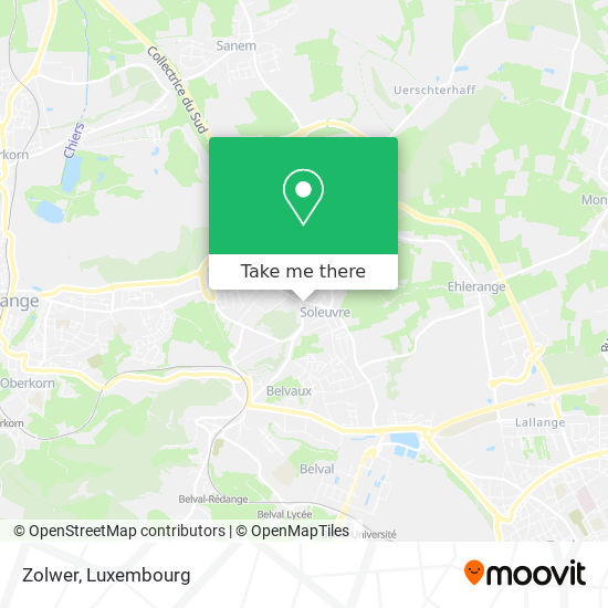 Zolwer map