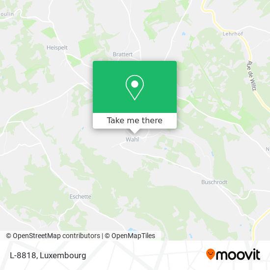 L-8818 mapa