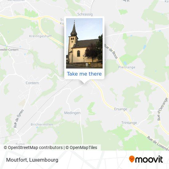 Moutfort map