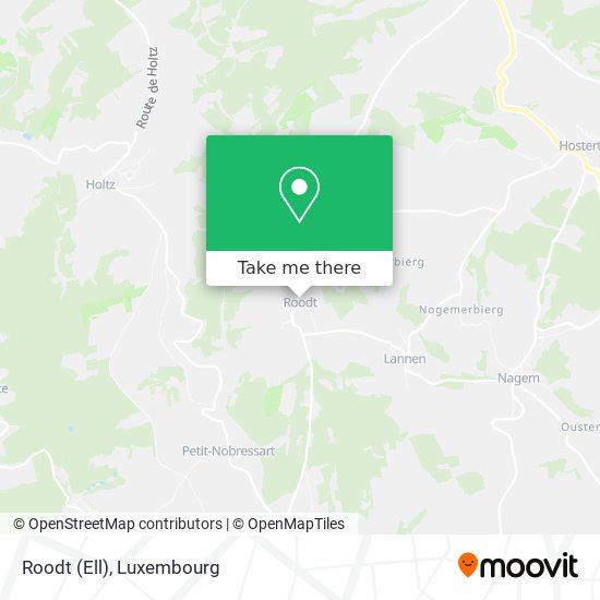 Roodt (Ell) mapa
