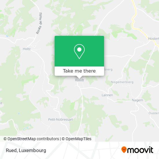 Rued map
