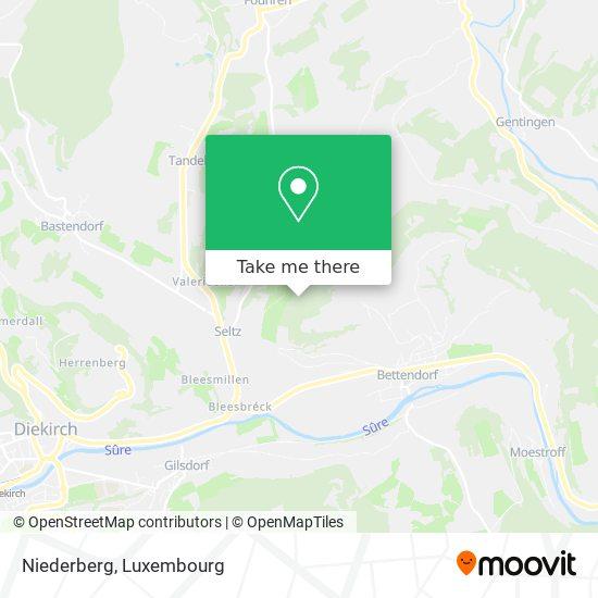 Niederberg map