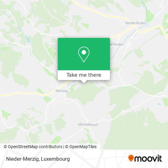 Nieder-Merzig map