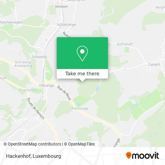 Hackenhof map