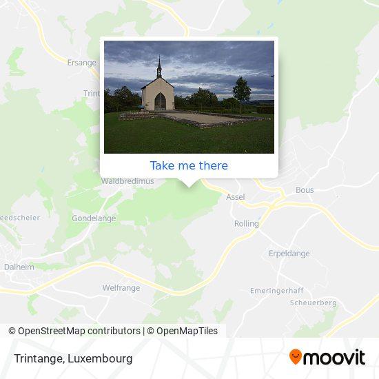 Trintange map