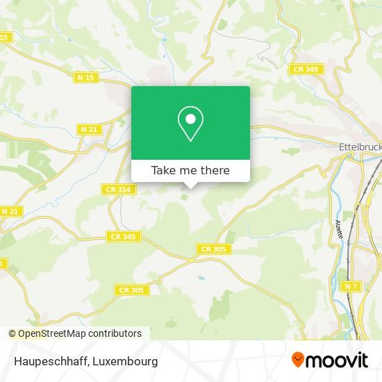 Haupeschhaff map