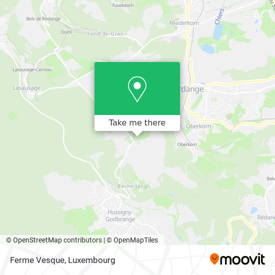 Ferme Vesque map
