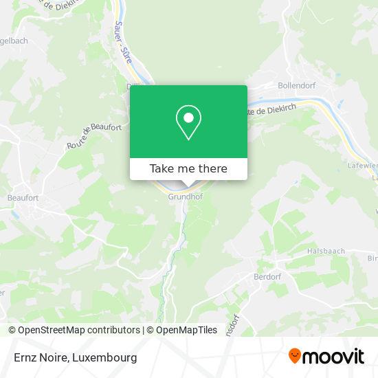 Ernz Noire map