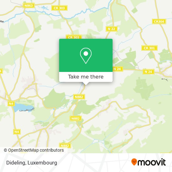 Dideling map