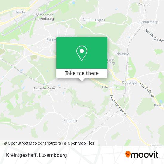 Kréintgeshaff map