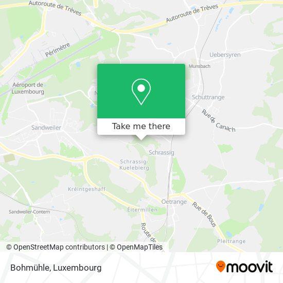 Bohmühle map