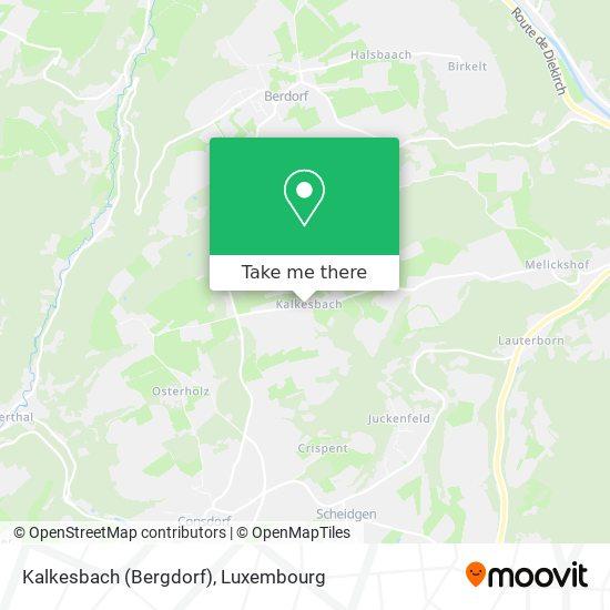 Kalkesbach (Bergdorf) map