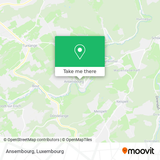 Ansembourg map