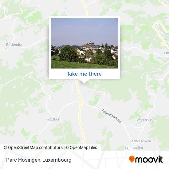 Parc Hosingen map