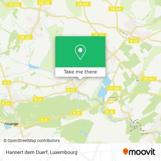Hannert dem Duerf map