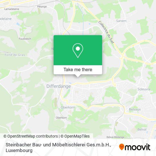 Steinbacher Bau- und Möbeltischlerei Ges.m.b.H. map