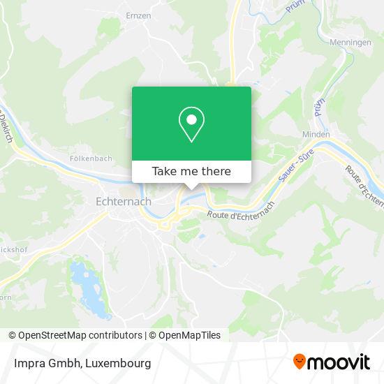 Impra Gmbh map