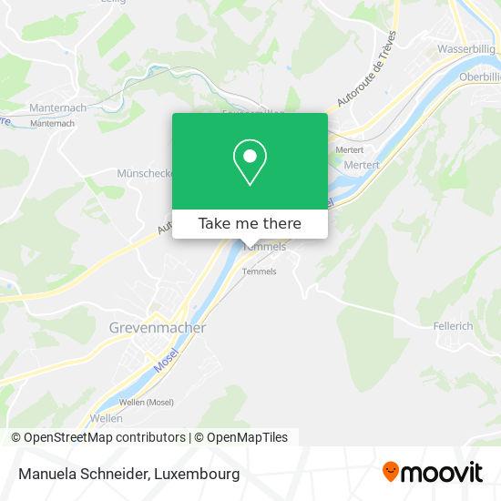 Manuela Schneider map