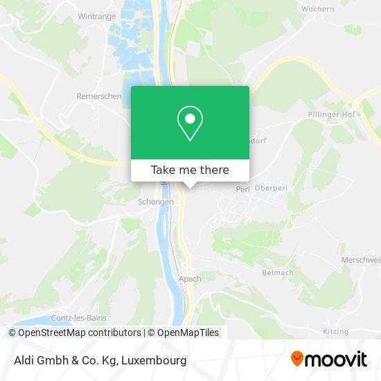 Aldi Gmbh & Co. Kg map