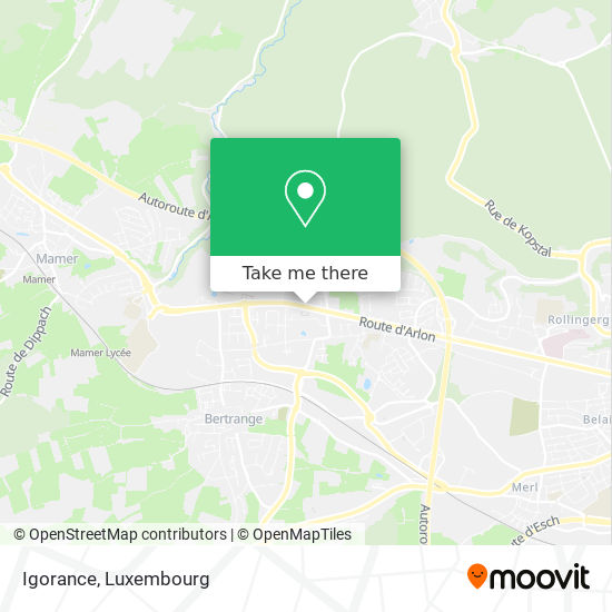 Igorance map