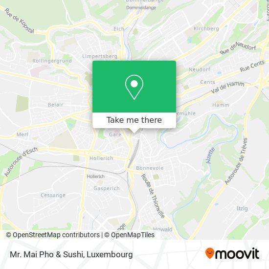 Mr. Mai Pho & Sushi map