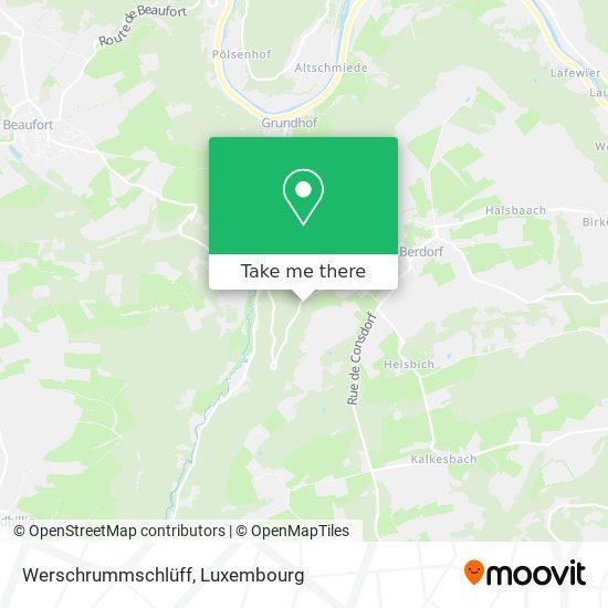 Werschrummschlüff map