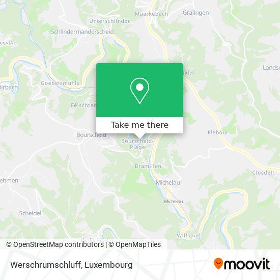 Werschrumschluff map