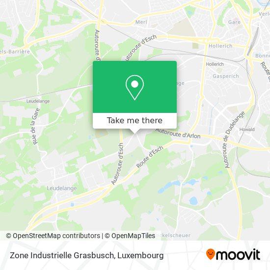 Zone Industrielle Grasbusch map