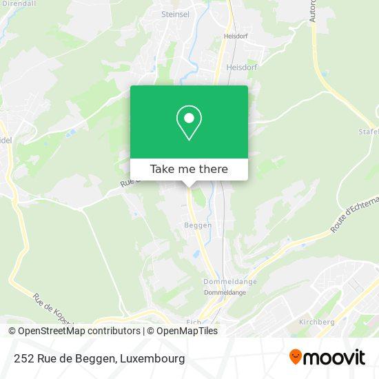 252 Rue de Beggen map
