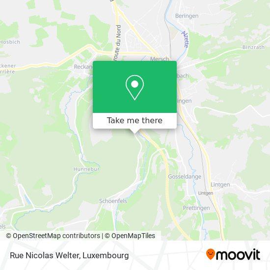 Rue Nicolas Welter map