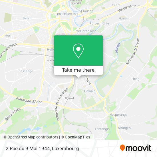 2 Rue du 9 Mai 1944 map