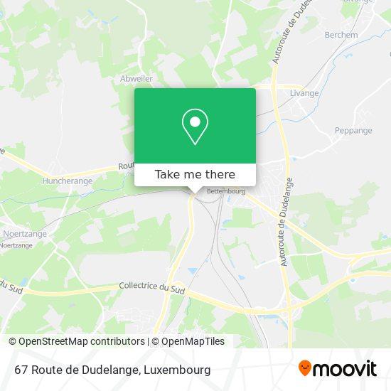 67 Route de Dudelange map