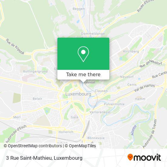 3 Rue Saint-Mathieu map