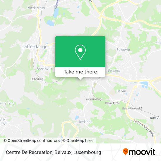 Centre De Recreation, Belvaux map