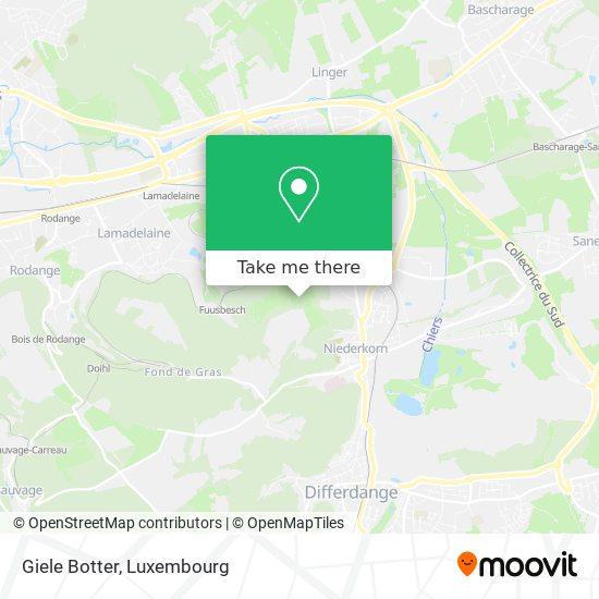 Giele Botter map