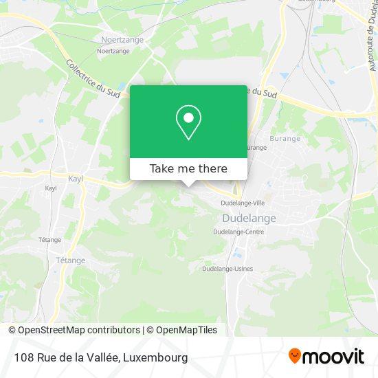 108 Rue de la Vallée map