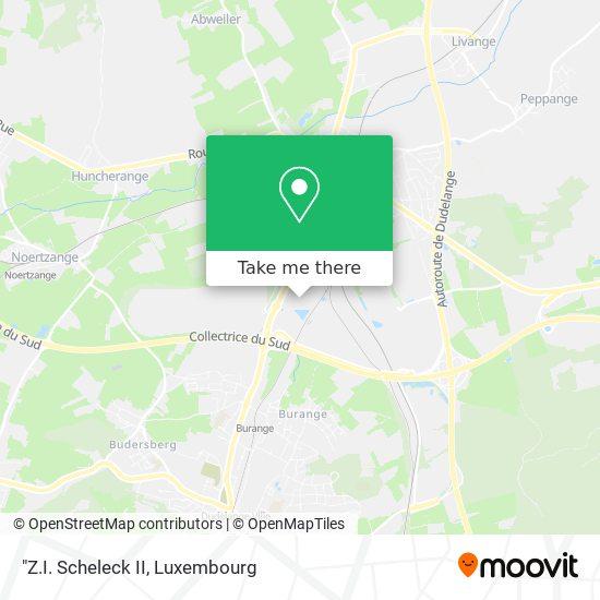 """""""Z.I. Scheleck II map"""