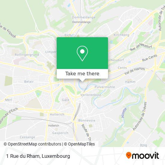 1 Rue du Rham map