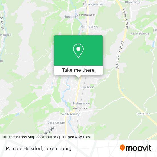 Parc de Heisdorf map
