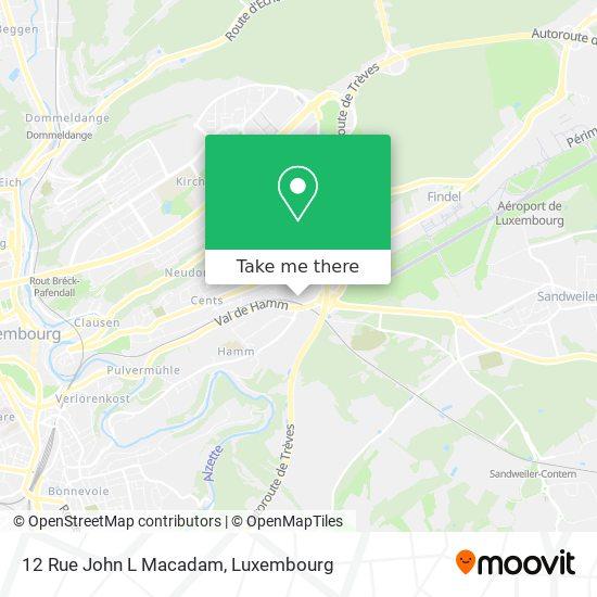 12 Rue John L Macadam map