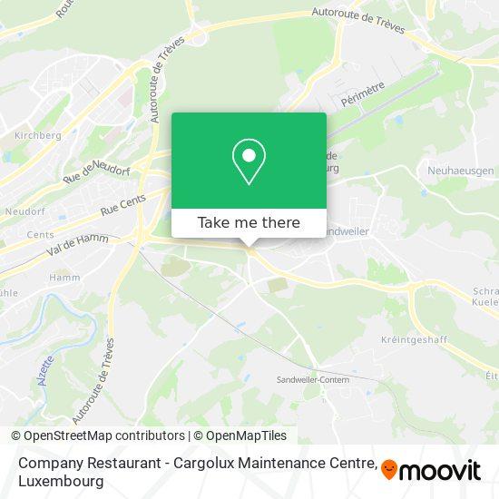 Company Restaurant - Cargolux Maintenance Centre map