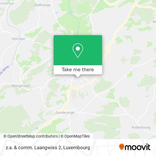 z.a. & comm. Laangwiss 2 map