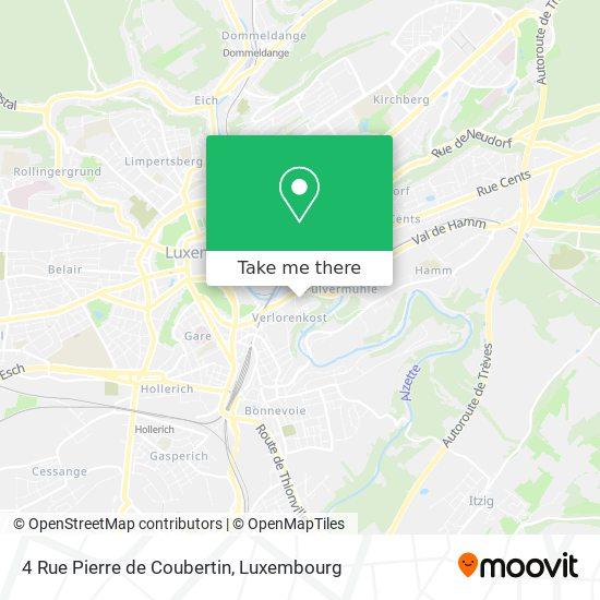 4 Rue Pierre de Coubertin map