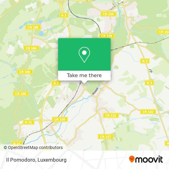 Il Pomodoro map