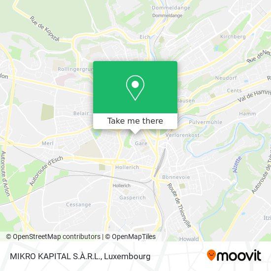 MIKRO KAPITAL S.À.R.L. map