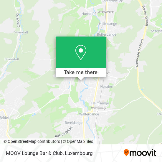 MOOV Lounge Bar & Club map