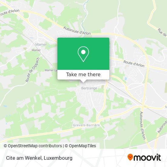 Cite am Wenkel map