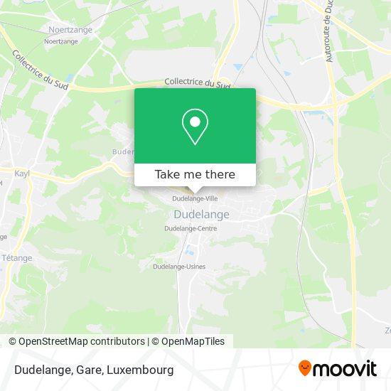 Dudelange, Gare map
