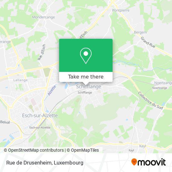 Rue de Drusenheim map