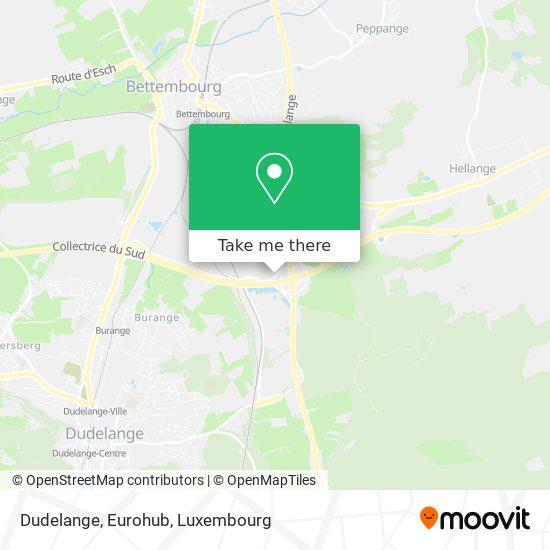 Dudelange, Eurohub map